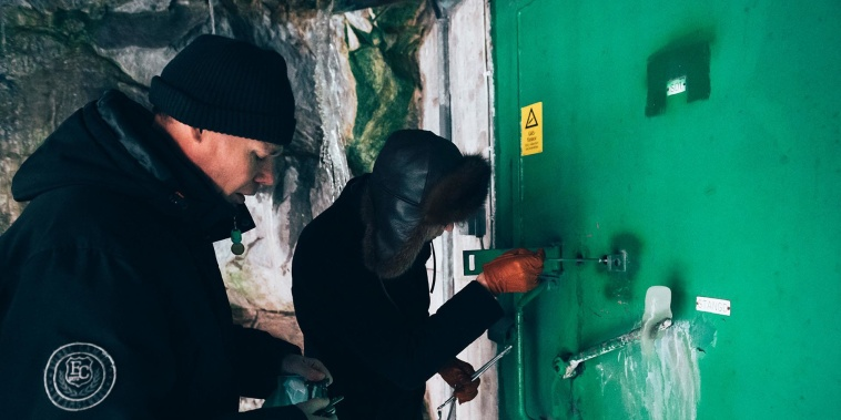 Take a guided tour of a Swedish nuclear bunker