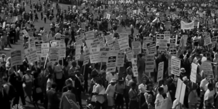 MLK's March on Washington transforms a movement