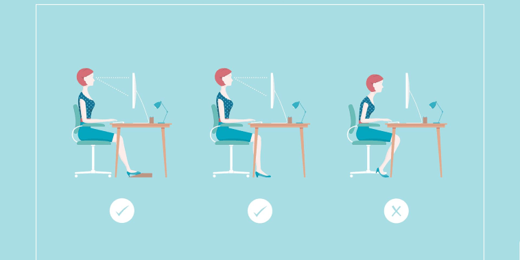 A better way to sit at your desk