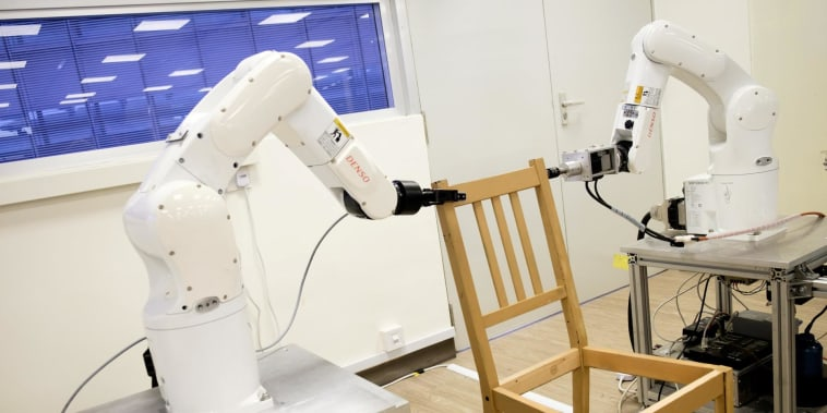 There's now a robot to assemble your Ikea furniture