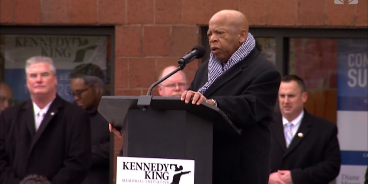 Rep. Lewis on MLK: 'I lost a big brother'