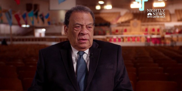 Extended Interview: Civil rights leader Andrew Young on 50th anniversary of MLK assassination