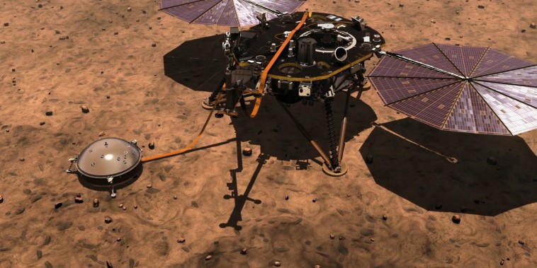 NASA is about to send its InSight Lander to Mars for an overdue health checkup