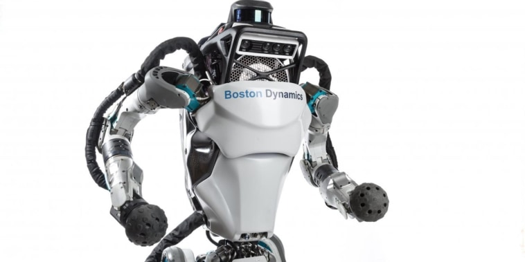 Boston Dynamic's Atlas robot goes jogging