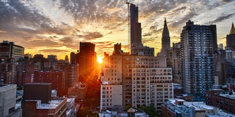 Manhattanhenge: It's all about the angles