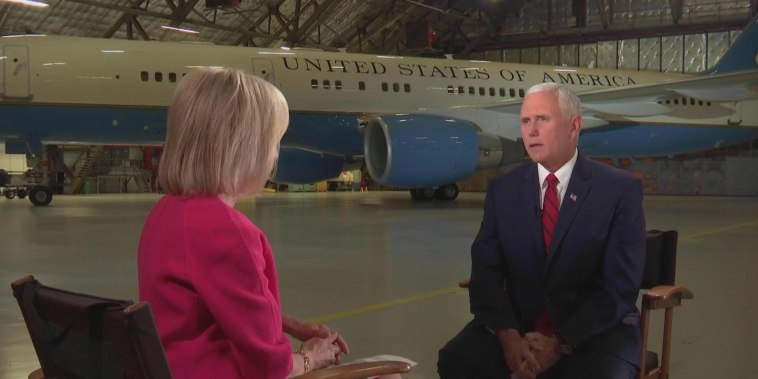 VP Pence speaks out about Mueller, North Korea and Scott Pruitt