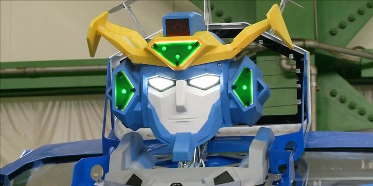 A real-life Transformer just unveiled by a Japanese robotics company