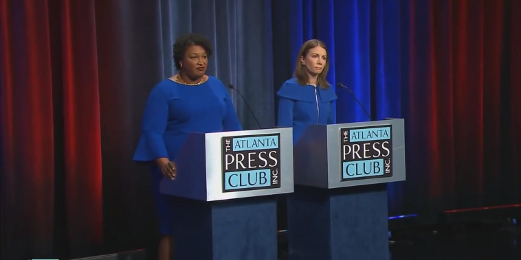 Georgia Dems choosing between two female gubernatorial candidates named Stacey