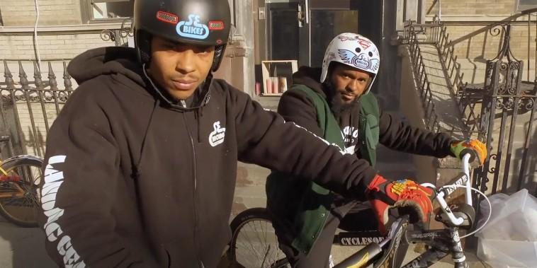 NYC bike crew gains Instagram fame with crazy street tricks