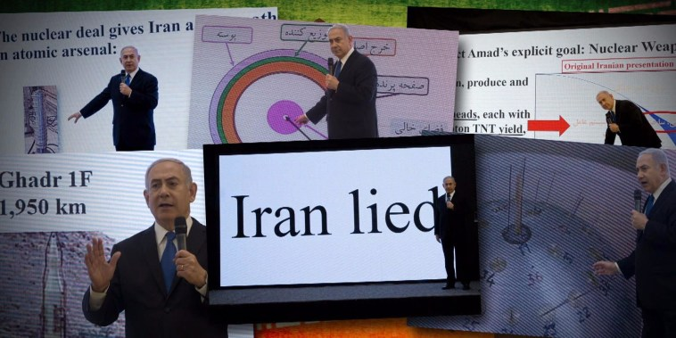 Israel alleges 'Iran lied,' but offers no evidence it cheated on nuclear deal