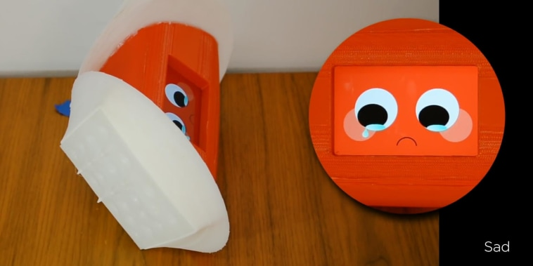 This robot gets goosebumps when it's happy