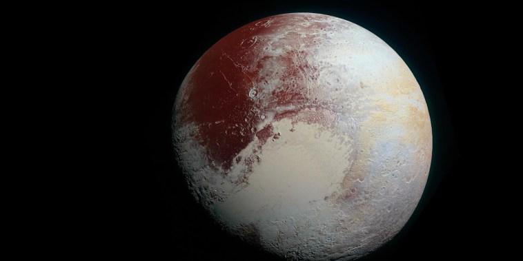 Pluto's status: It's complicated