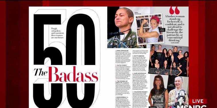 'We need these women now': Profiling 'Badass' women