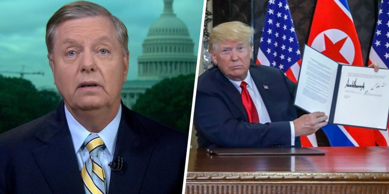Lindsey Graham: 'I'm hopeful' about Trump-Kim Jong Un meeting