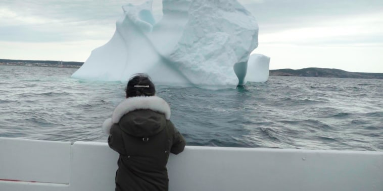 Icebergs lure tourists to tiny Newfoundland town