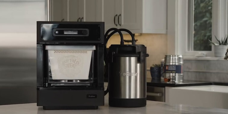 This counter top device could make homebrewing easier and more compact