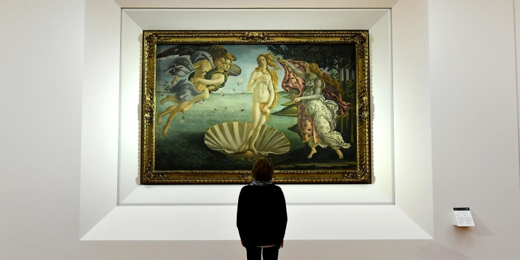 After 500 years, a clue to who inspired Botticelli's 'Birth of Venus'