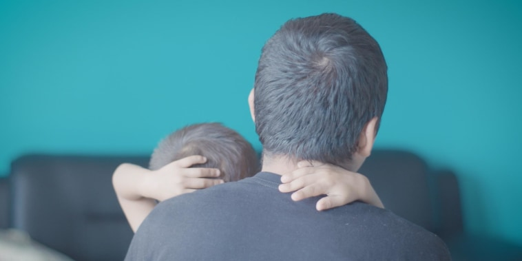 Jose was reunited with his son. But the 3-year-old is learning to trust him again.