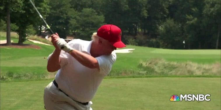 """At Trump's golf courses, """"sinkholes of money"""""""