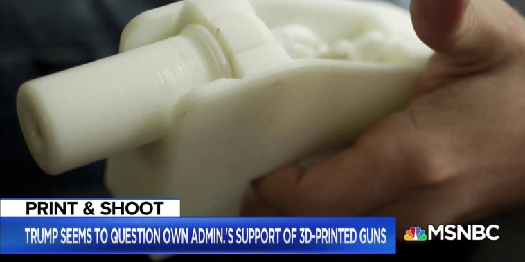 3D Printed gun creator wants to eviscerate gun control