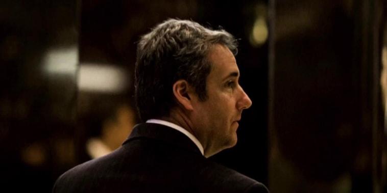 Trump on Cohen: It's 'inconceivable that a lawyer would tape a client'