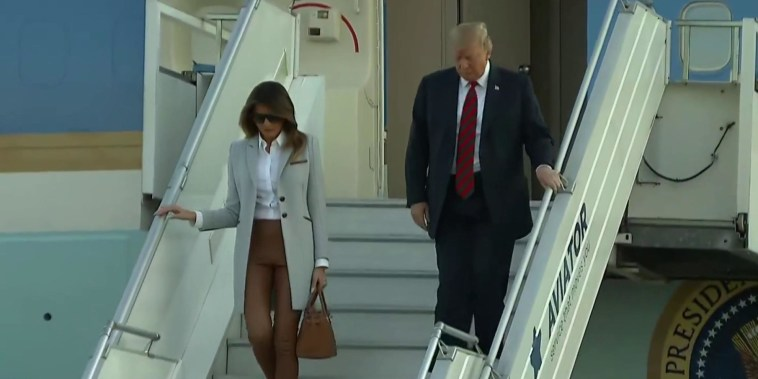 Trump arrives in Helsinki ahead of Putin summit