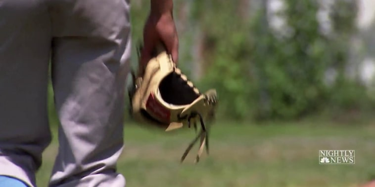 Camden Little League team keeps kids off the street on the field