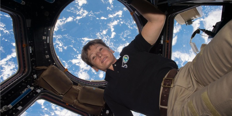 Realizing the dream of space: Astronaut Peggy Whitson on leaving Earth for the first time