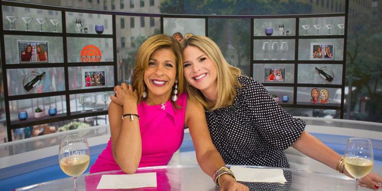Hoda Kotb and Jenna Bush Hager share their Favorite Things