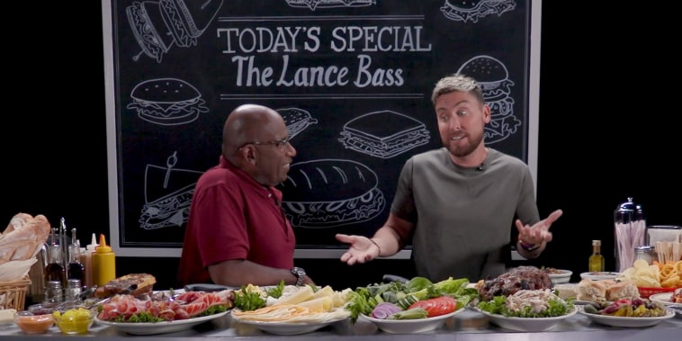 COLD CUTS with Al Roker: Lance Bass