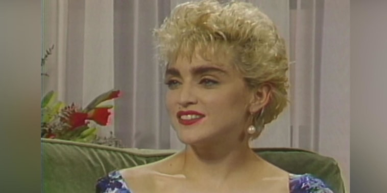 Flashback! See Madonna talk fame on TODAY in 1987