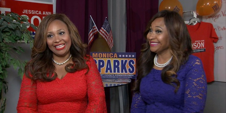Political twins, opposing sides: 'I couldn't find many other black Republicans