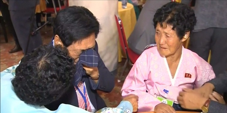 Families torn apart by Korean War are reunited after decades