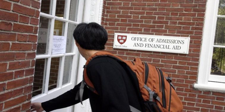 DOJ joins Asian-American discrimination lawsuit against Harvard