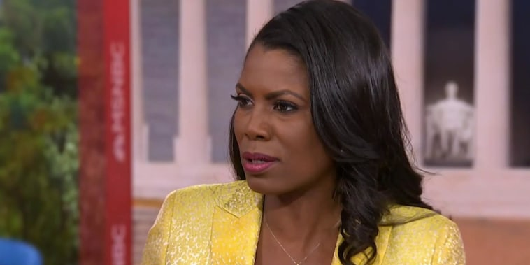 Omarosa: John Kelly 'wanted to intimidate me'