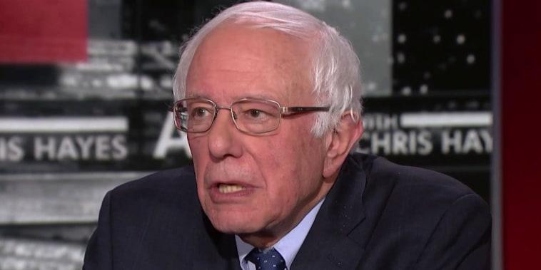 Sen. Sanders: 'Trump has got to be defeated'