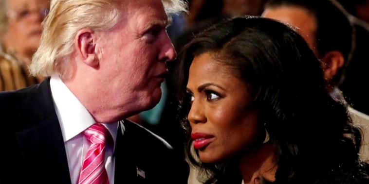 Trump's bizarre response to Omarosa's claim he's a racist