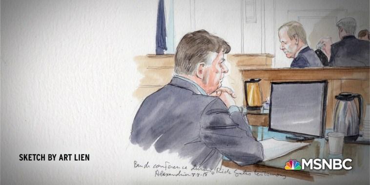 Judge seals part of Manafort record, cites ongoing investigation