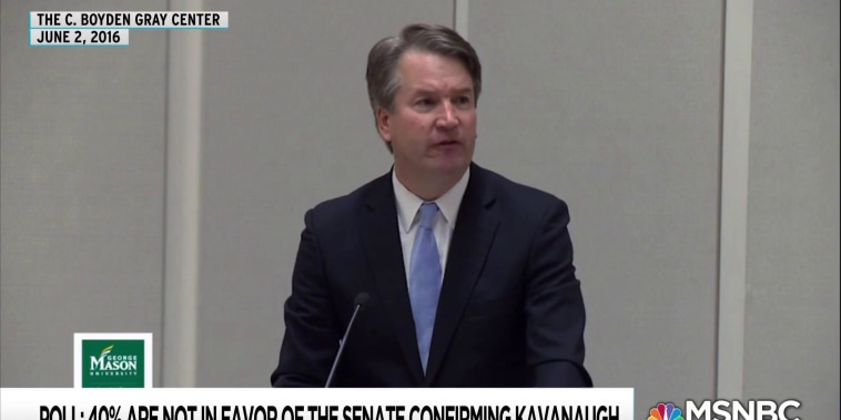 Tape hints Kavanaugh opposes marriage equality, abortion rights