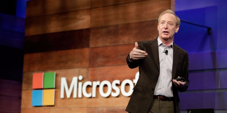 Microsoft president comments on discovery of new Russian hacking attempts