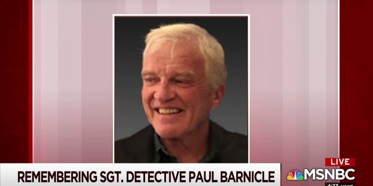 Remembering Sgt. Detective Paul Barnicle