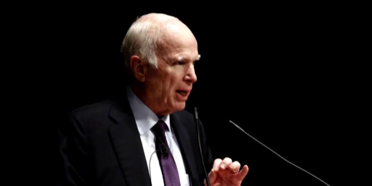 Joe: McCain's name is a reminder of what Trump is not