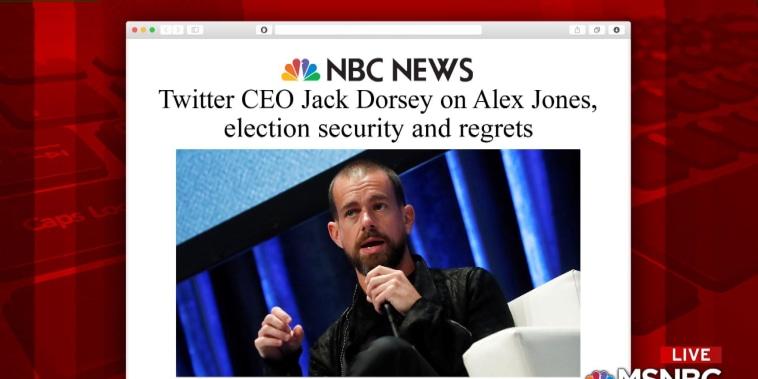 "Twitter puts Alex Jones of Infowars on a seven-day ""timeout"""