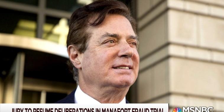 Paul Manafort fraud trial to resume