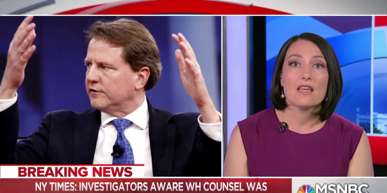 WH lawyer help in Russia probe gives insights to Trump's choices