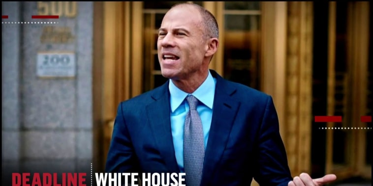 Stormy Daniels' attorney Michael Avenatti considering a bid for the White House