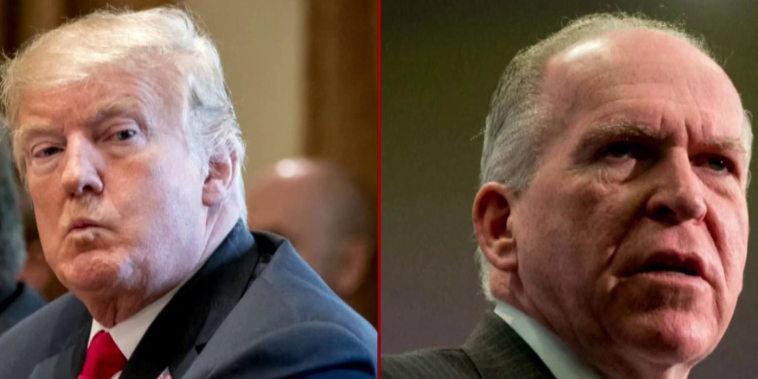 Obstructing justice in plain sight? Trump's true Brennan motive
