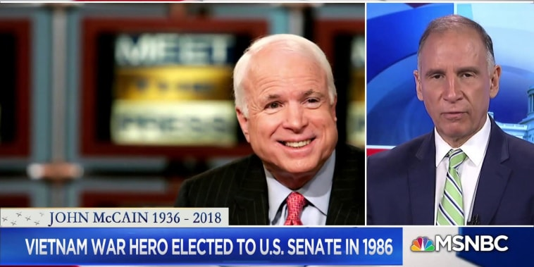 Fmr. McCain Advisor: 'He was the perfect statesman'