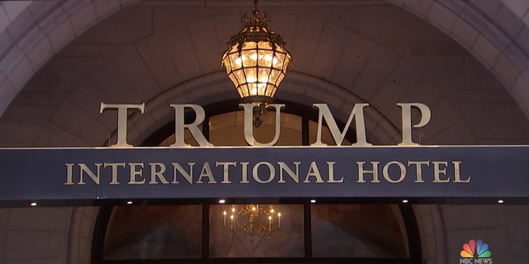 Critics blast spending by foreign governments and political groups at Trump's DC hotel