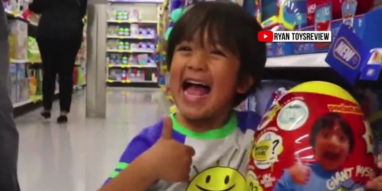 Walmart turns to 6-year-old YouTube millionaire